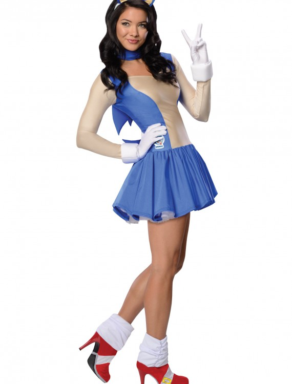 Adult Sonic Dress Costume buy now