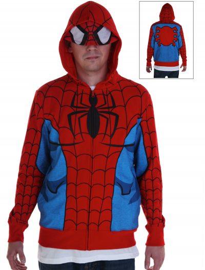 Adult Spiderman Costume Hoodie buy now