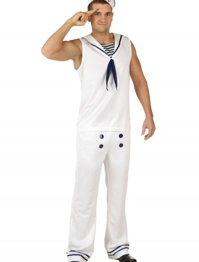 All Hands on Deck White Costume buy now