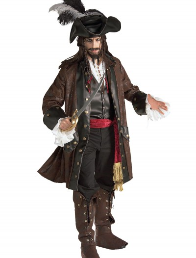 Authentic Caribbean Pirate Adult Costume buy now