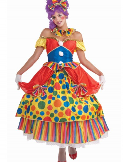 Big Top Belle Clown Costume buy now