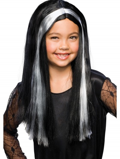 Black and Grey Child Witch Wig buy now