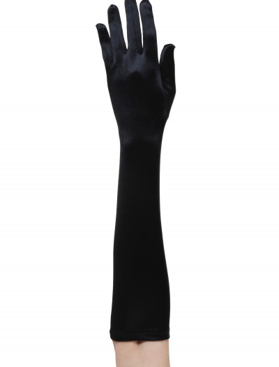 Black Flapper Costume Gloves buy now