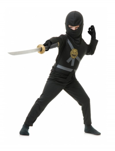 Black Toddler Ninja Costume buy now