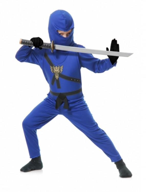 Blue Toddler Ninja Costume buy now
