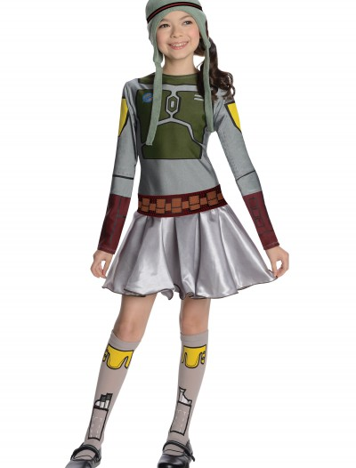 Boba Fett Girls Dress Costume buy now