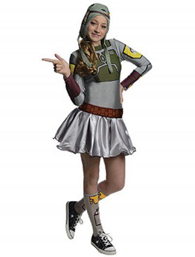 Boba Fett Tween Dress Costume buy now