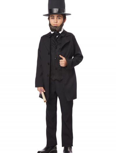 Boys Abraham Lincoln Costume buy now