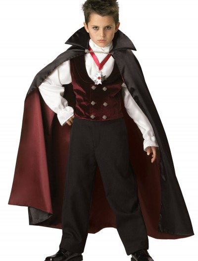 Boys Gothic Vampire Costume buy now