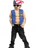 Boys Mini Biker Costume buy now