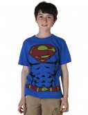 Boys Muscle Superman Costume T-Shirt buy now