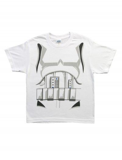 Boys Star Wars I Am Stormtrooper Costume T-Shirt buy now
