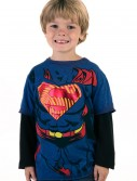 Boys Superman Longsleeve Costume T-Shirt buy now