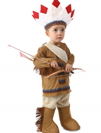 Deluxe Boys Native American Costume buy now