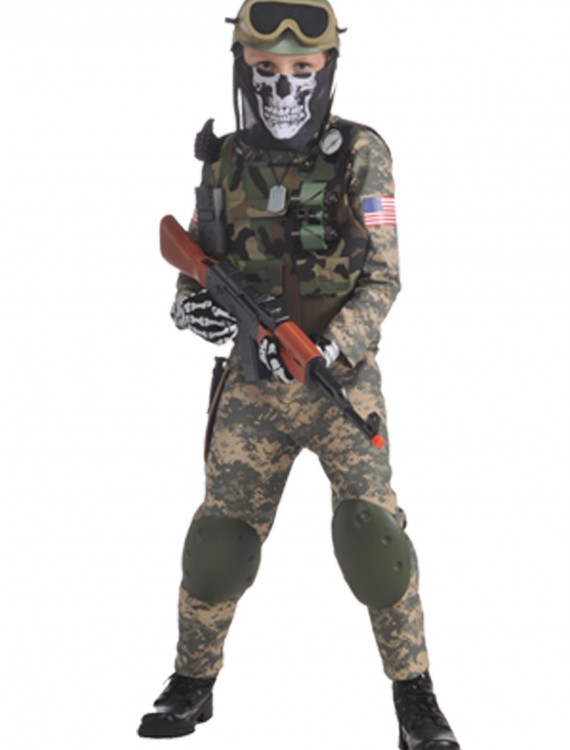 Camo Trooper Costume buy now