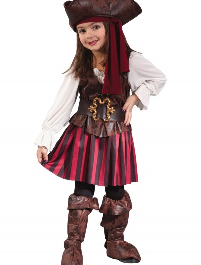 Caribbean Toddler Pirate Girl Costume buy now