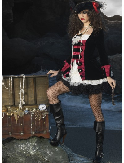 Charming Pirate Captain Costume buy now
