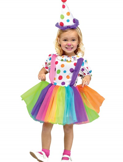 Child Big Top Fun Clown Costume buy now