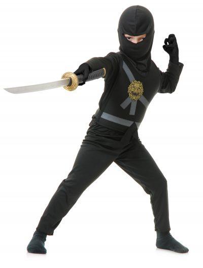 Child Black Ninja Master Costume buy now