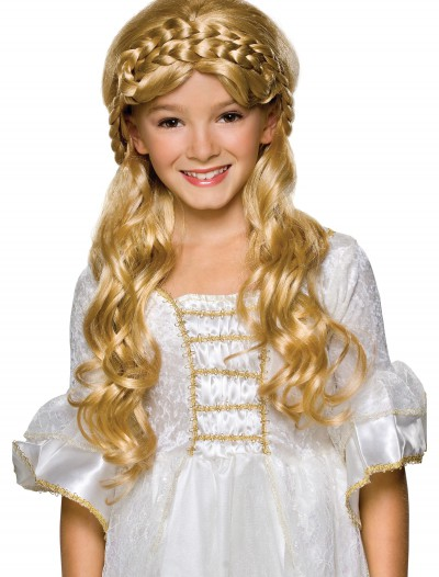 Child Blonde Enchanted Princess Wig buy now