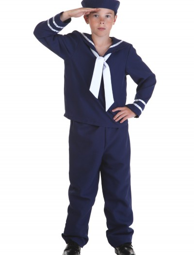 Child Blue Sailor Costume buy now