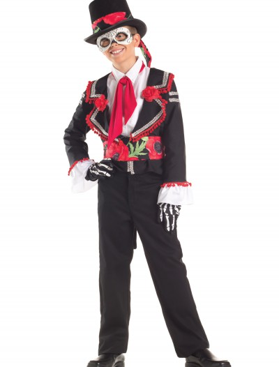 Child Day of the Dead Costume buy now