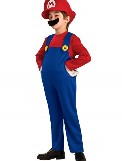 Child Deluxe Mario Costume buy now
