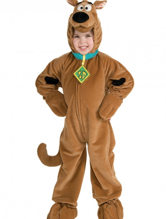 Child Deluxe Scooby Doo Costume buy now
