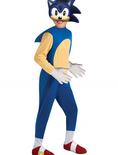 Child Deluxe Sonic Costume buy now