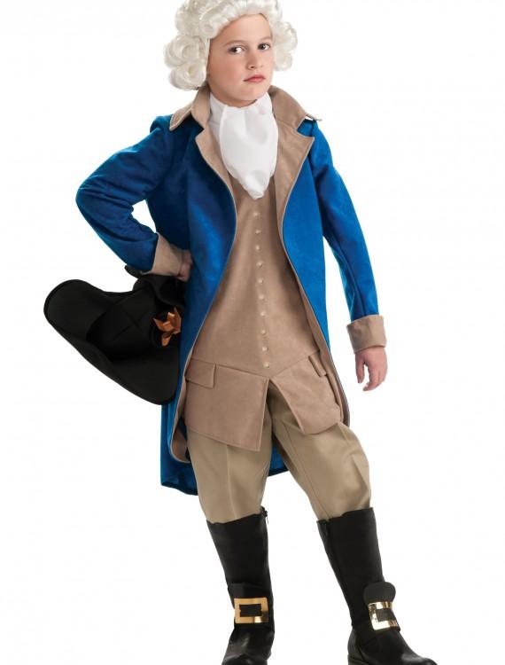 Child George Washington Costume buy now