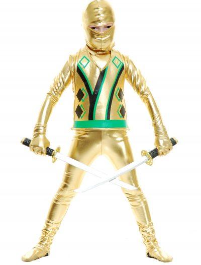 Child Gold Ninja Avengers Series III Costume buy now