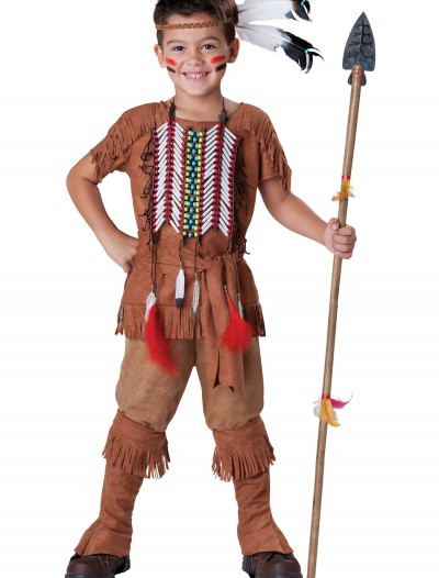 Child Indian Brave Costume buy now