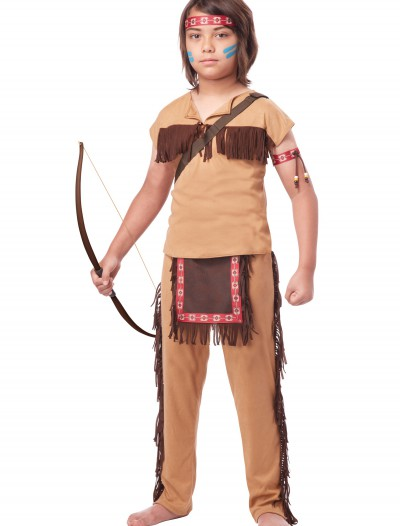 Child Native American Brave Costume buy now