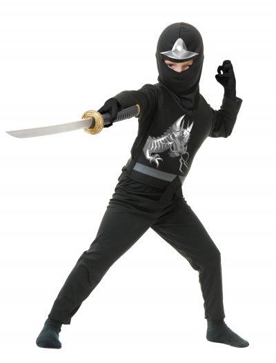 Child Ninja Avengers Series II Black Costume buy now