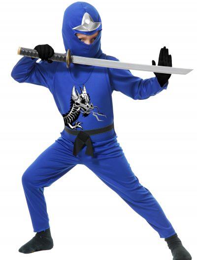 Child Ninja Avengers Series II Blue Costume buy now