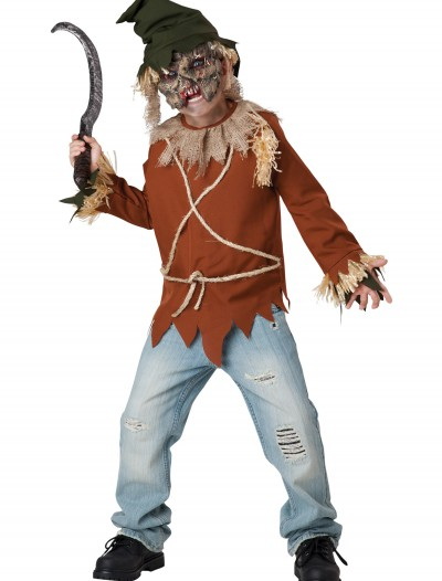 Child Psycho Scarecrow Costume buy now