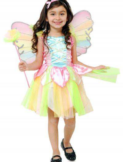 Child Rainbow Princess Fairy Costume buy now