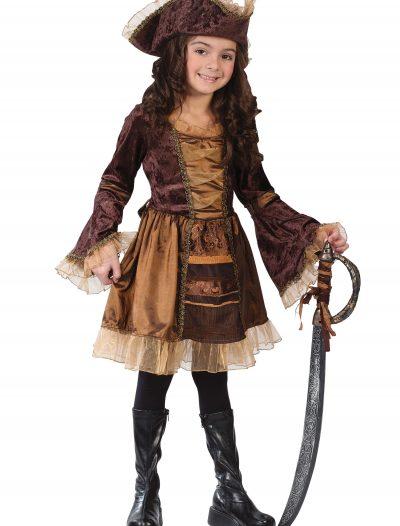 Child Sassy Victorian Pirate Costume buy now