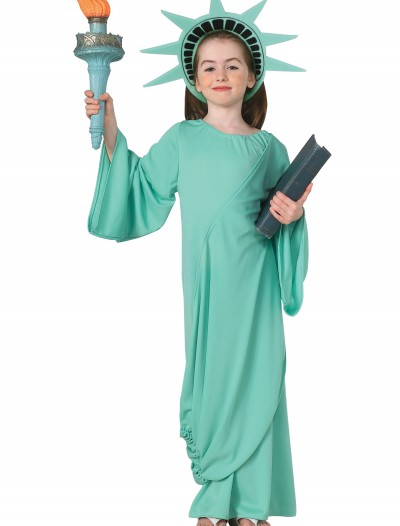 Child Statue of Liberty Costume buy now