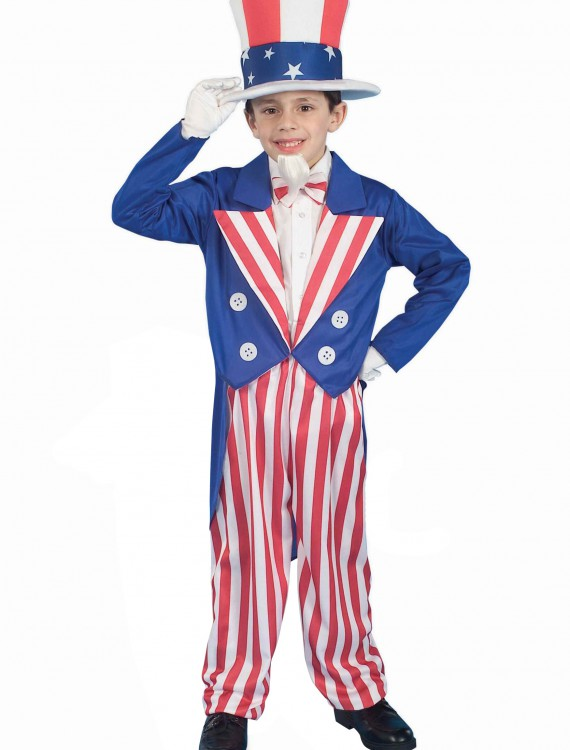 Child Uncle Sam Costume buy now