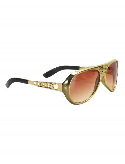 Classic Gold Elvis Glasses buy now