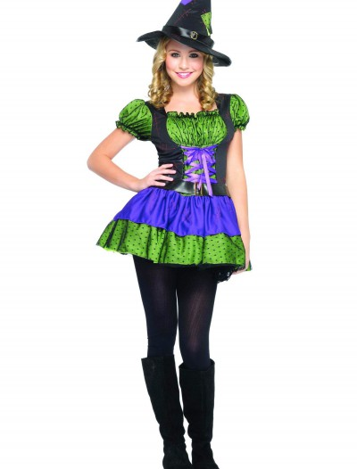 Colorful Teen Witch Costume buy now