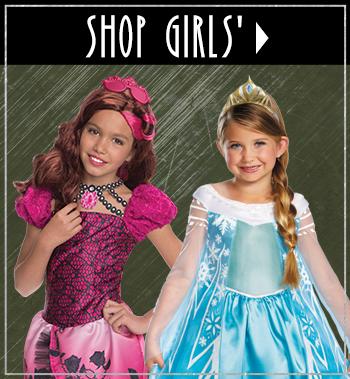 Girl's Halloween Costumes