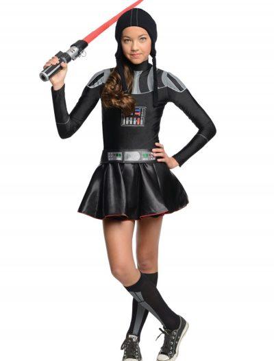 Darth Vader Tween Dress Costume buy now