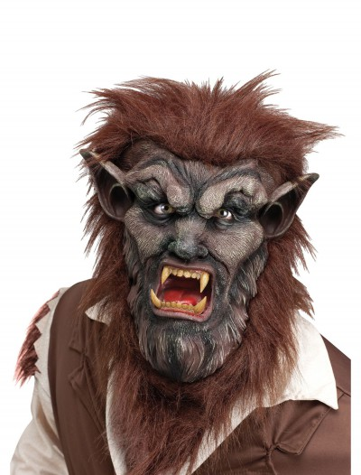 Deluxe Brown Wolf Man Mask buy now