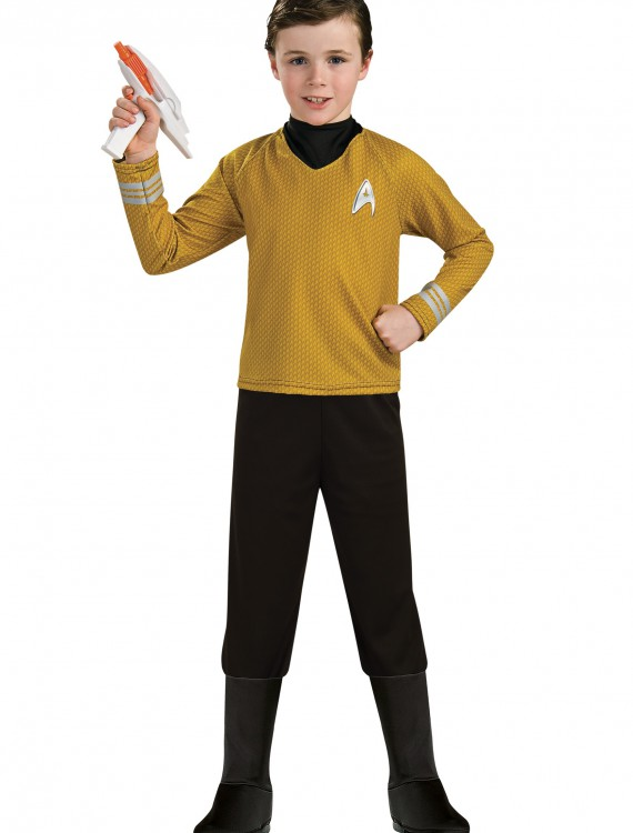 Deluxe Child Captain Kirk Costume buy now