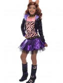 Deluxe Monster High Clawdeen Wolf Child Costume buy now