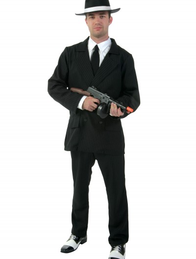 Deluxe Plus Size Gangster Costume buy now