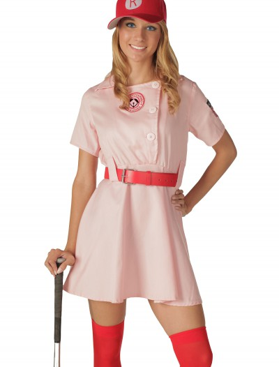 Deluxe Rockford Peaches Costume buy now