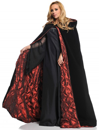 Deluxe Velvet Cape w/ Quilted Red Lining buy now